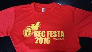RECFESTATシャツ
